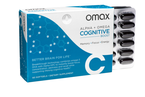Omax® Cognitive Boost - Travel Pack