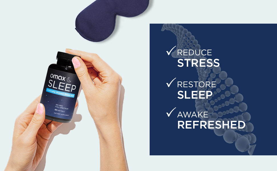 Omax® Sleep CBD Supplement | Subscribe & Save - Omax Health