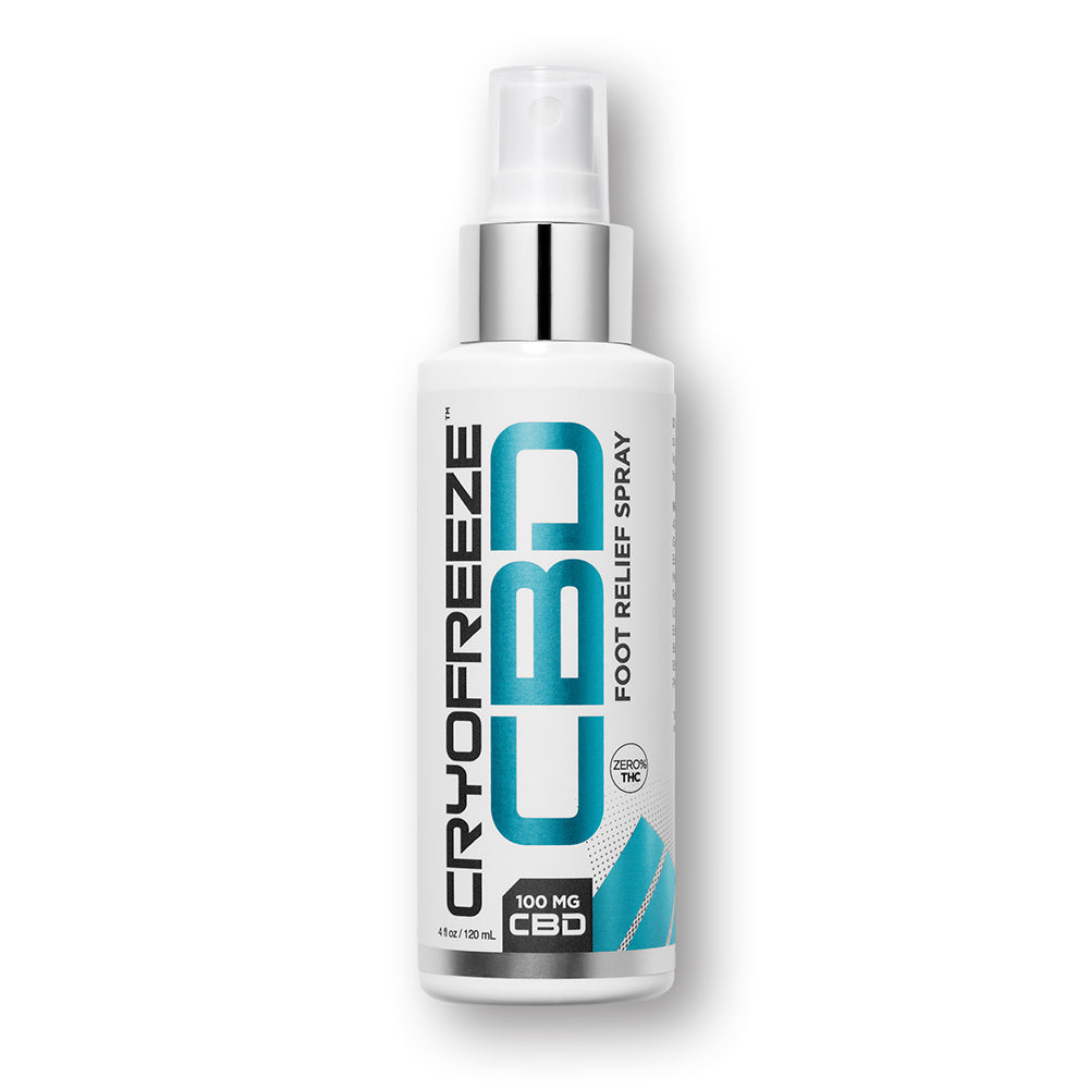 CryoFreeze Foot & Body Relief Spray - Omax Health