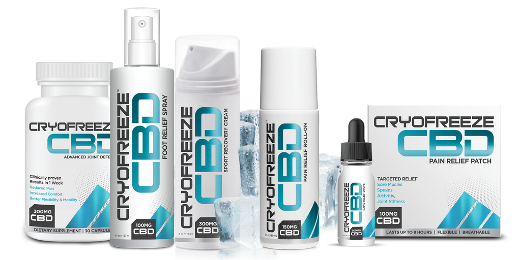 CryoFreeze CBD Advanced Joint Defense - Save $20! - Omaxhealth.com