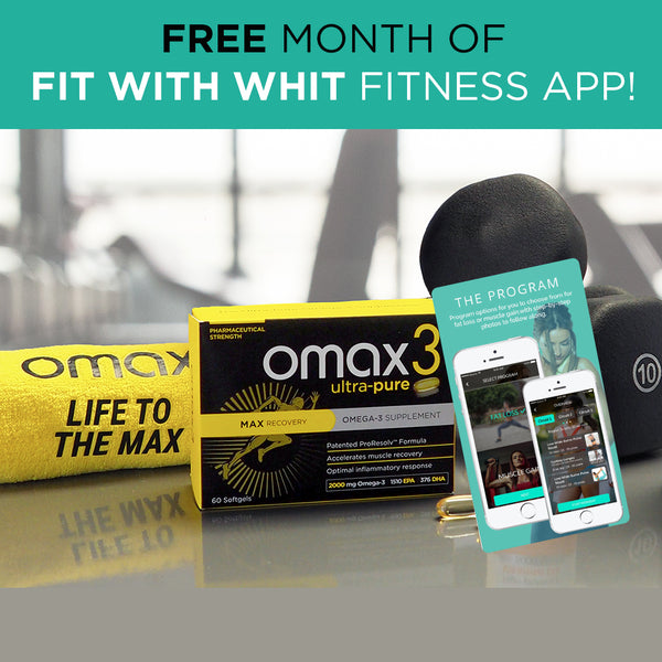 Omax3 Commit To Be Fit Omega-3 Kit