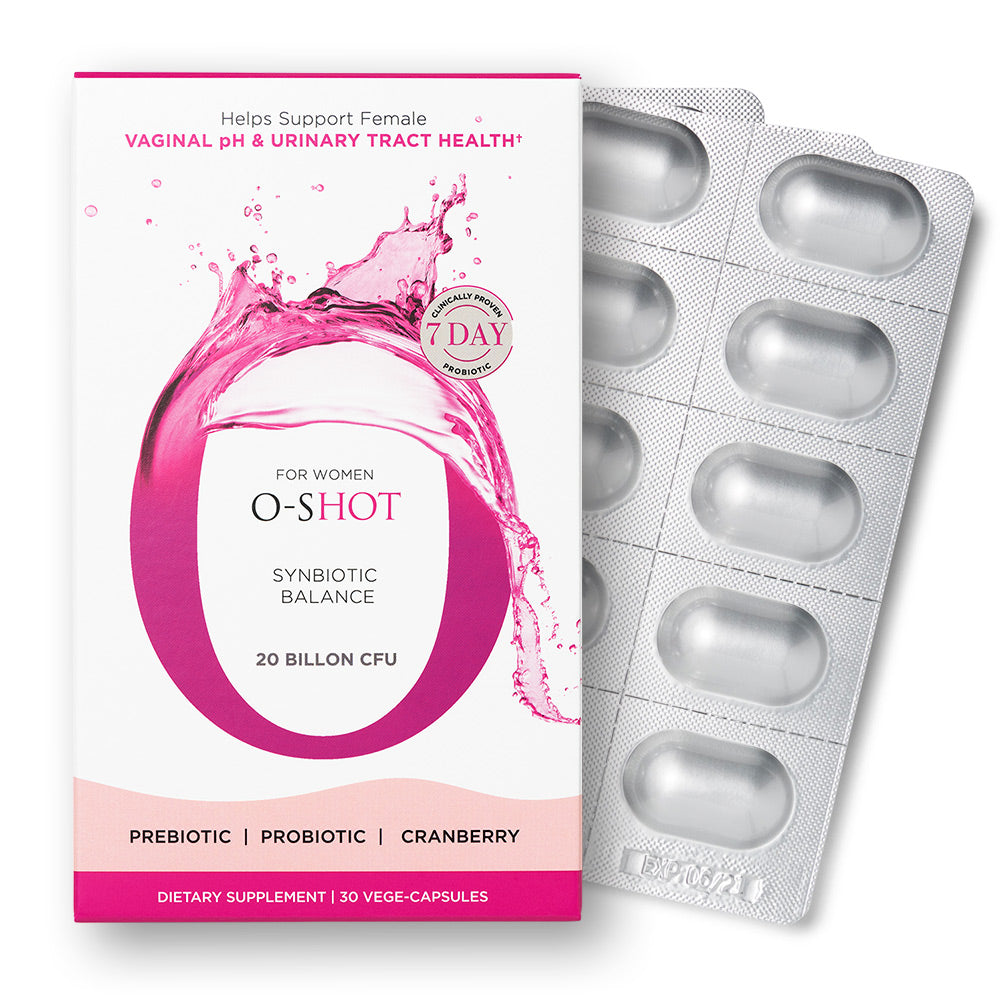 O-Shot® Synbiotic Women's Probiotic & Cranberry Extract - Omax Health