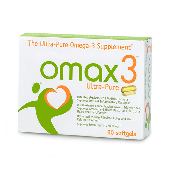 Omax3® Ultra-Pure Omega-3 Supplement - 20% Off