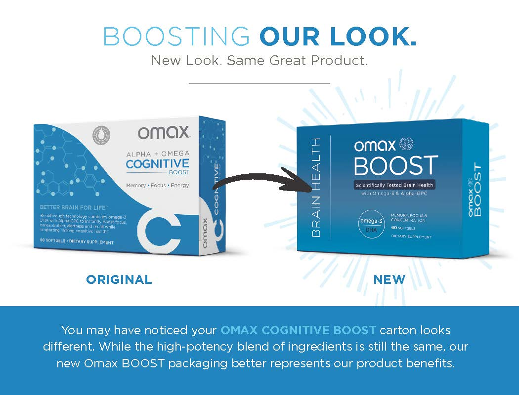 Omax® Boost Brain Health | Subscribe & Save - Omax Health