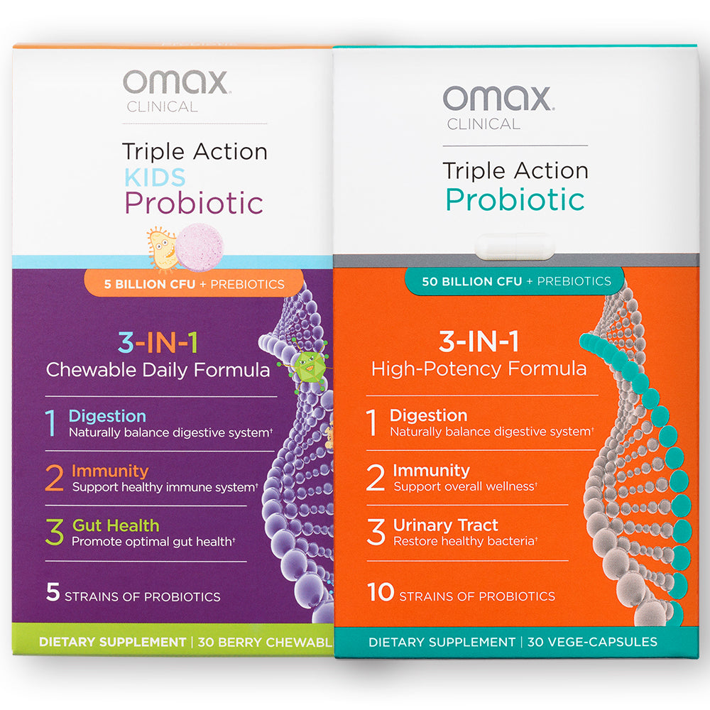 Probiotic Immunity Bundle - Adults & Kids - Omaxhealth.com