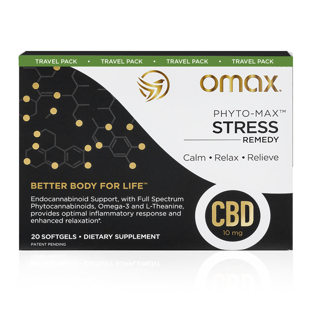 Omax Sleep & Stress Travel Pack