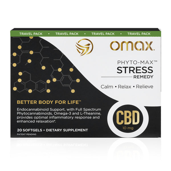 Omax® Sleep & Stress Hemp CBD - Travel Pack