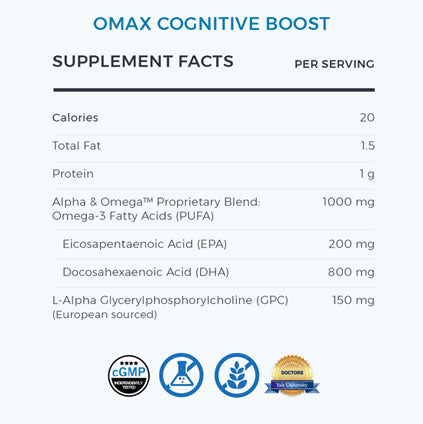 Omax® Brain Booster DUO