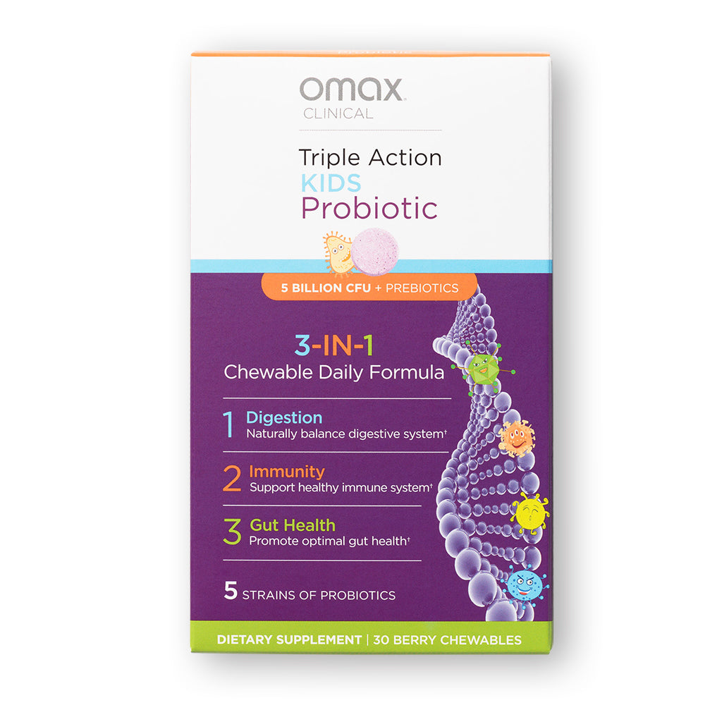 Omax®  Kids Probiotic Berry Chewables - Omax Health