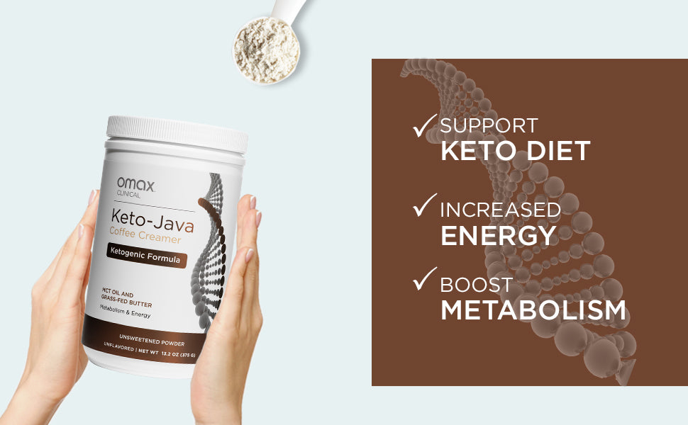 Omax® Keto-Java Coffee Creamer