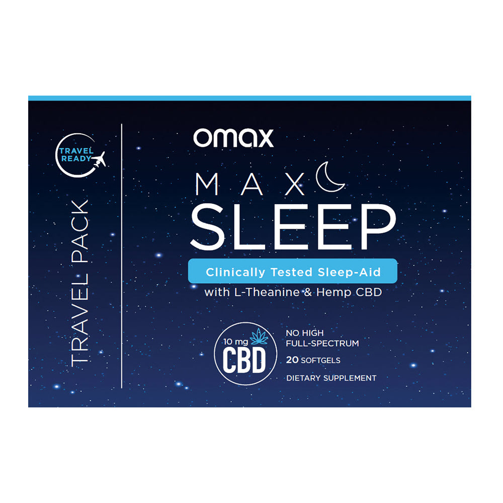 Free Sleep Travel Pack - S&H Only $4.95 - Omaxhealth.com