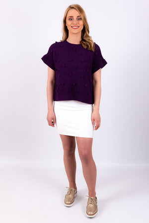 Bobble Top | Purple