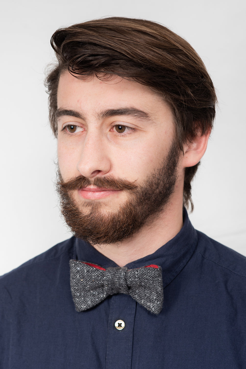 Tweed Bow Tie | Speckled Charcoal