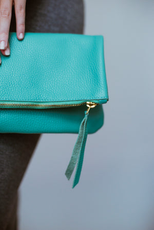Jamie Clutch | Aqua Green