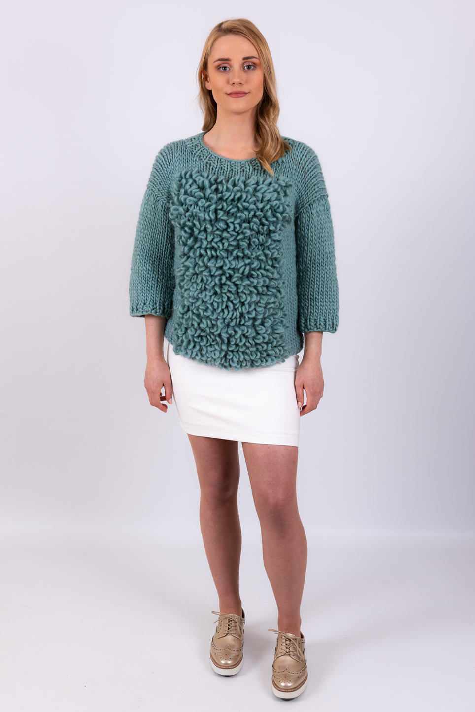 Loop Sweater | Teal