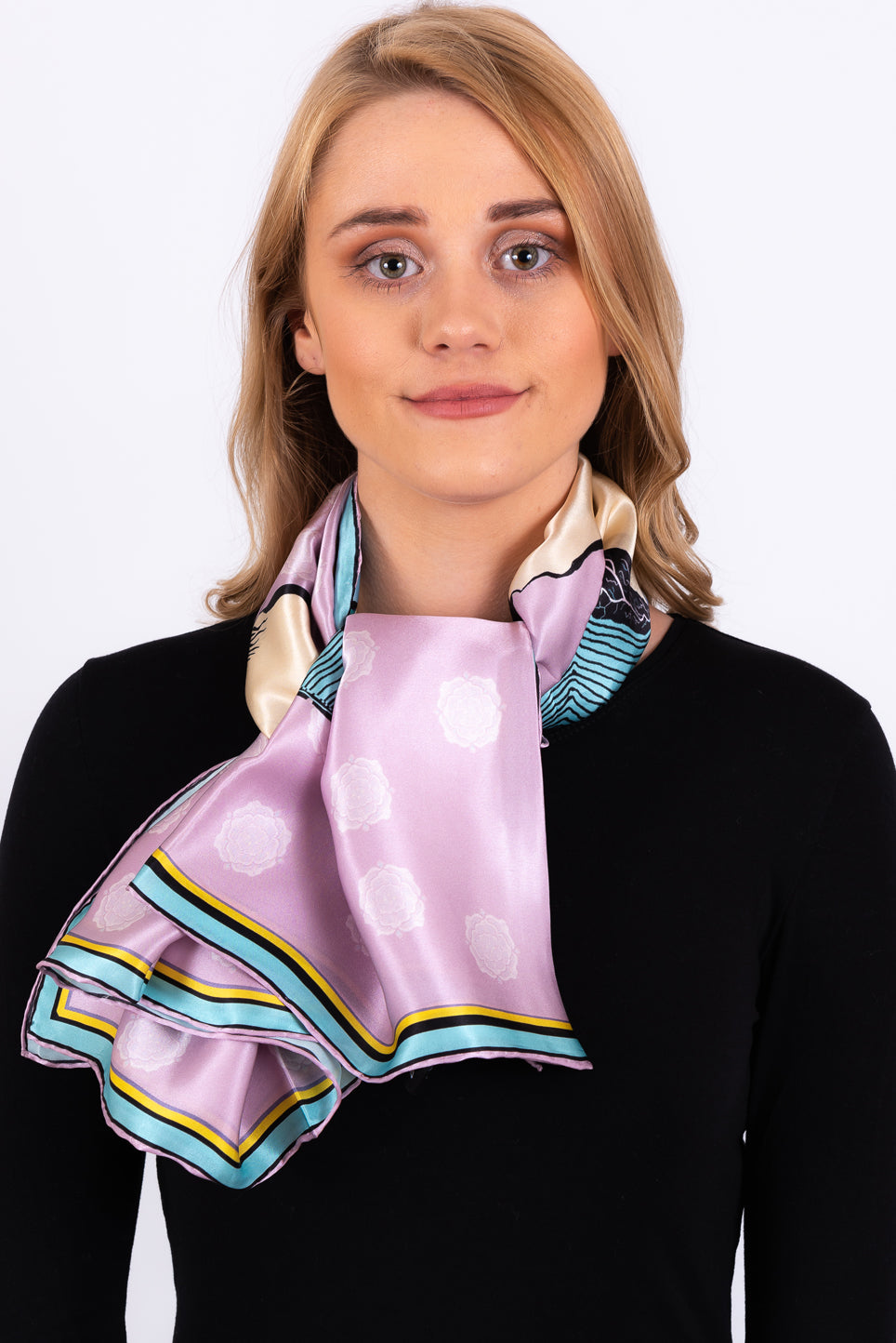 Silk Scarf | Meditate
