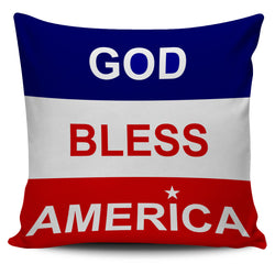 American Pride Pillow Covers- God Bless