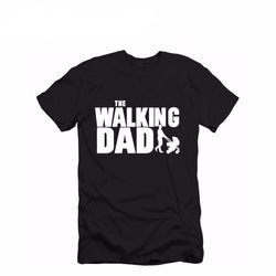 Short Sleeve The Walking Dad Men's Funny T-Shirt Men Cotton Father's Day Gift