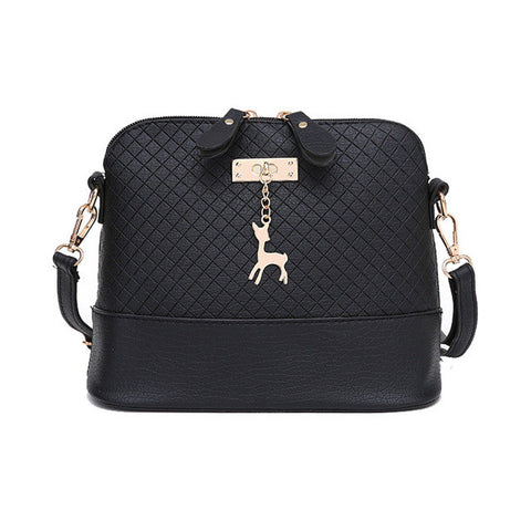Messenger Fashion Mini Bag With Deer designed emblem