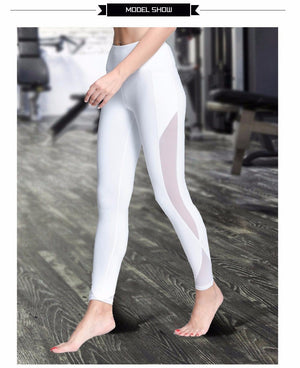 Azura Compression Mesh Leggings with Pocket™