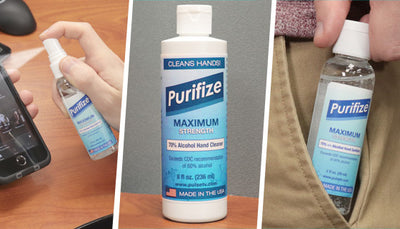 The Ultimate On-the-go 16pc Sanitizer Kit