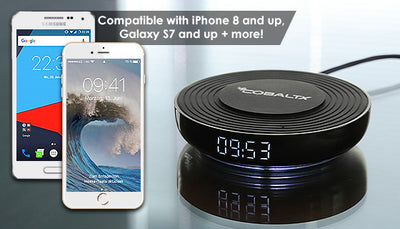 Wireless Charging Pad with Digital LED