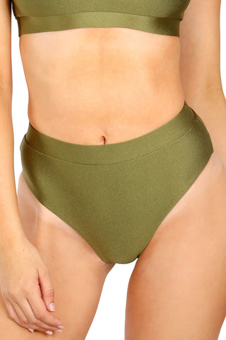Sienna String Bottoms - Canary Yellow