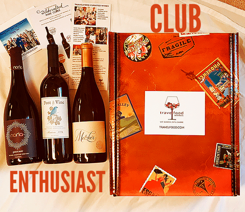 Travelfood Wildcrafted Wine Clubs
