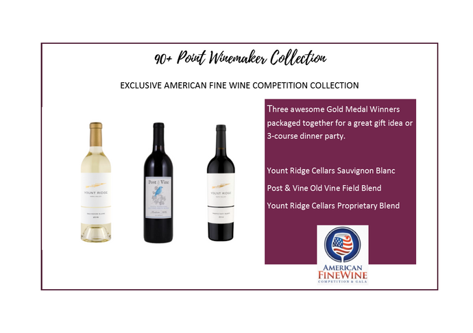 90+ Point Collection- American Fine Wine Competition