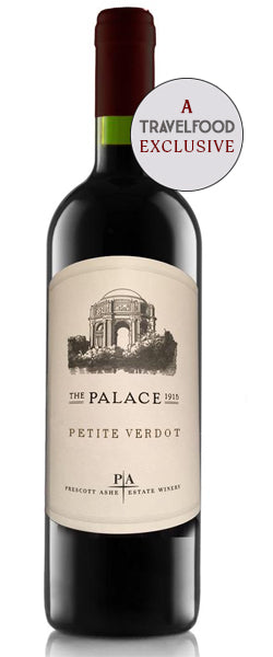 The Palace Petite Verdot. Only 25 Cases Made, Incredible Oakville fruit.