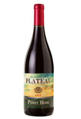 Highlands wines Plateau Pinot Noir california travelfood.com