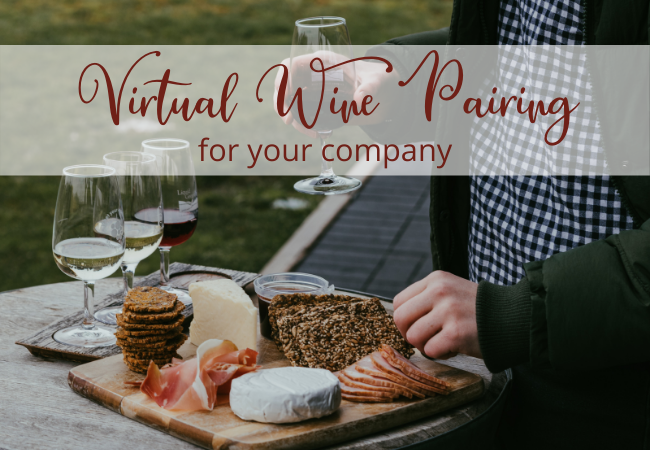 Corporate Virtual Wine Pairing