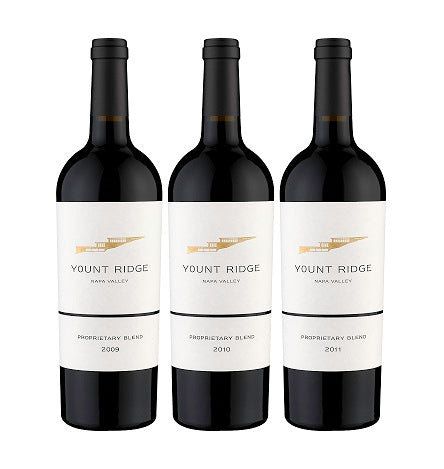 YOUNT RIDGE CELLARS Proprietary Red Blend Vertical, Oakville