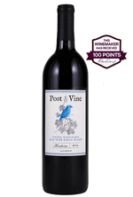 POST & VINE Old Vine Field Blend, 2016, Mendocino - 100 point winemaker