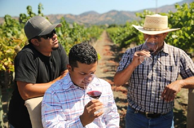 Gallegos Wines Mexican American winemakers