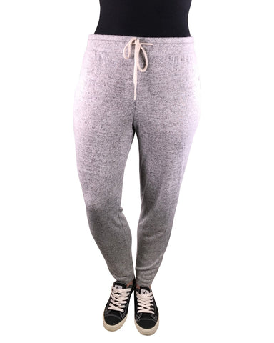 Plus french terry knit joggers