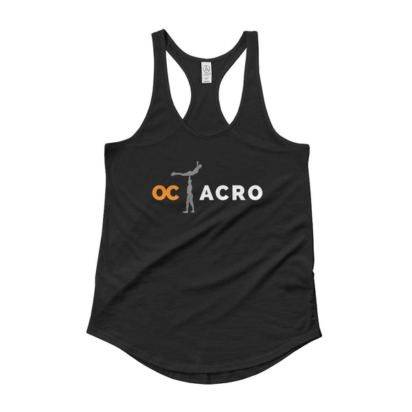 OC Acro Ladies' Shirttail Dark Tank