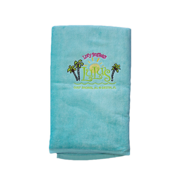 Terry Velour Beach Towel