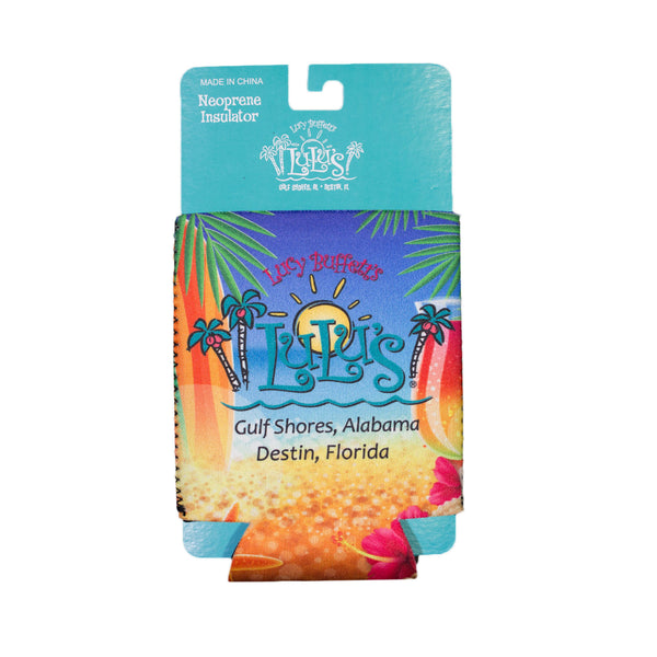 Beach Surf Can Koozie