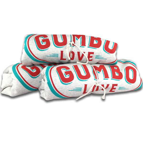 Gumbo Love Sweatshirt Blanket