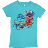 Youth Go With the Flow Tee