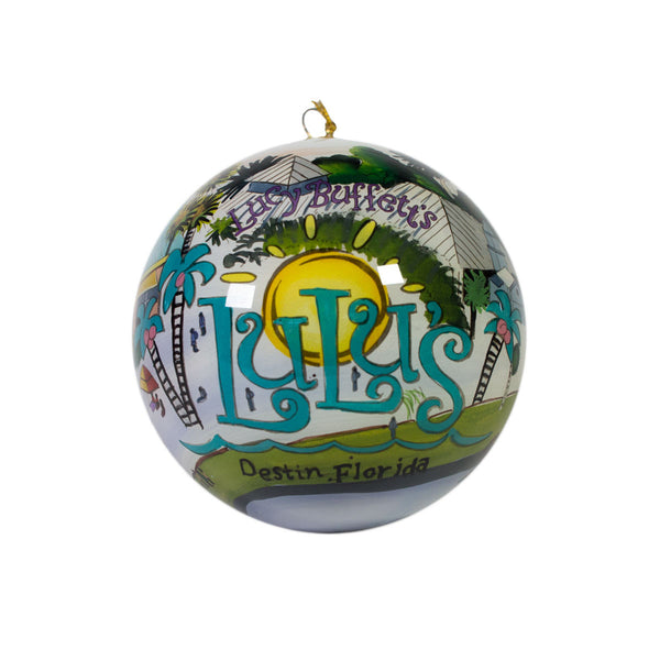 Destin Watercolor Ornament