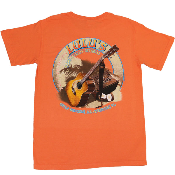 GUITAR SAND POCKET TEE