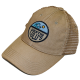 Circle Wave Trucker Hat