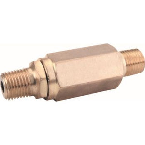 "GP 100622 High Pressure Nozzle Filter, Brass 1/4"" MPT x 1/4"" MPT"