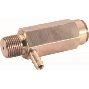 GENERAL PUMP SAFETY RELIEF VALVE w/BARB 6000PSI 195°F