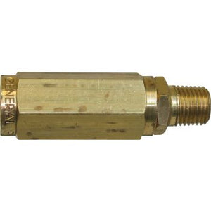 "GP 100647 High Pressure Nozzle Filter, Brass 1/4"" FPT inlet x 1/4"" MPT outlet"