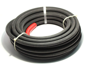 "PRESSURE WASHER HOSE, 2-WIRE, 3/8"" ID, 6000 PSI, BLACK"