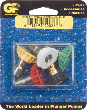 General Pump pressure washer nozzles