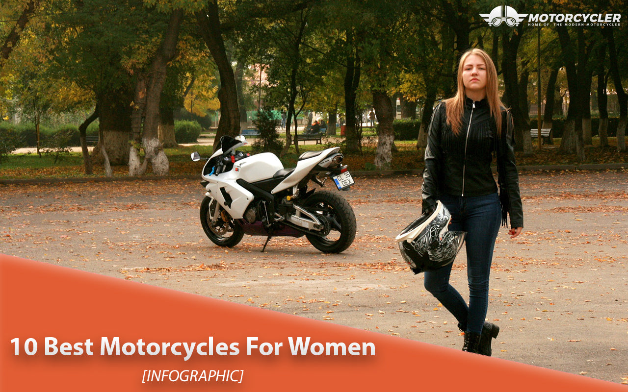 10 Best Motorcycles For Women [Infographic]